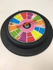 Switch adapted spinner for Candy Land