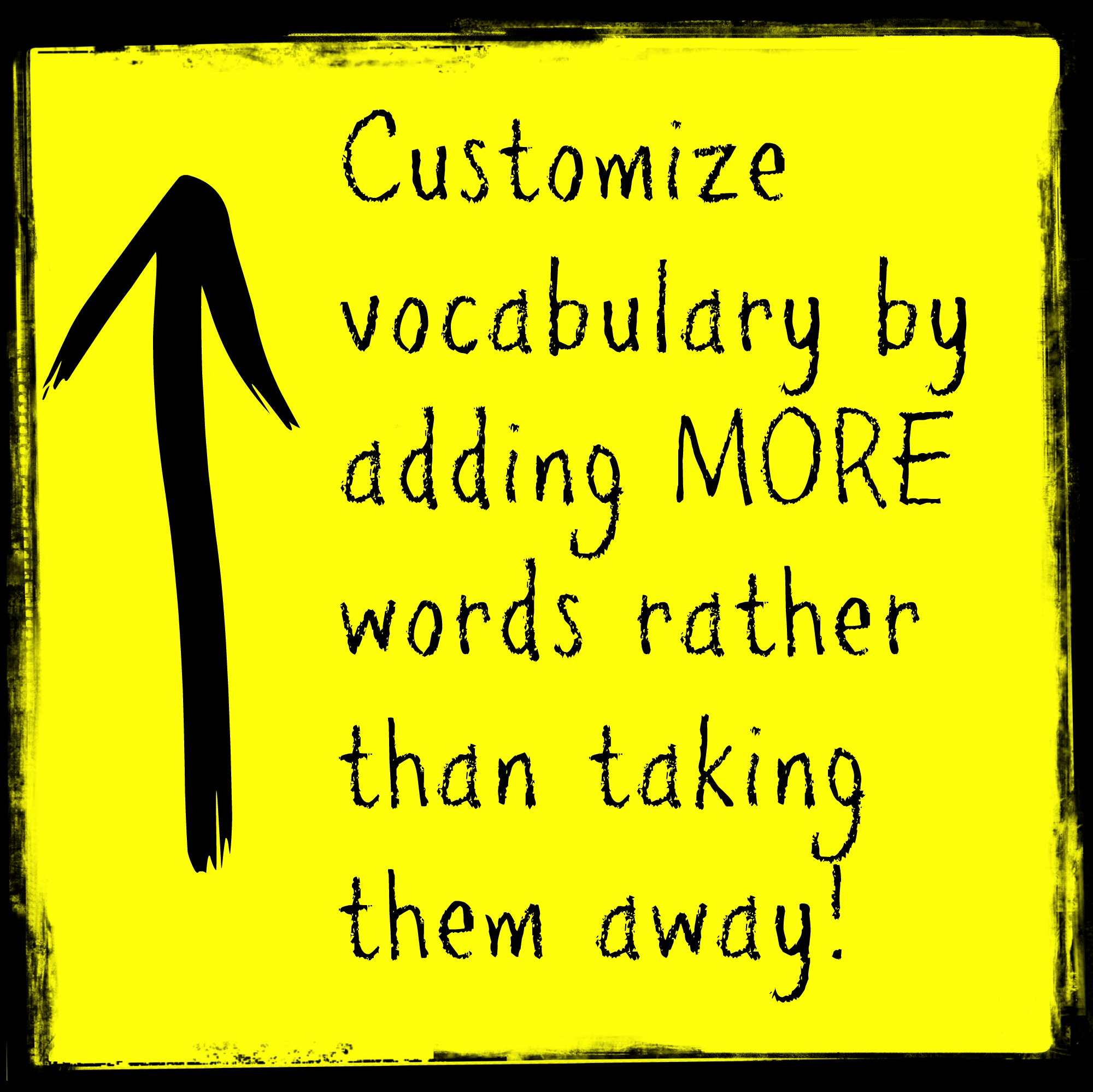 Customize Vocab