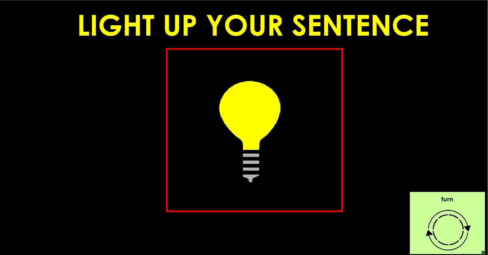 Light Up Your Sentence 2