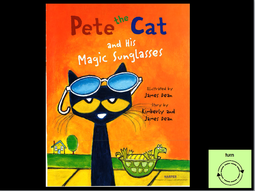Pete The Cat Sunglasses  pete the cat and his magic sunglasses video book aacreatively