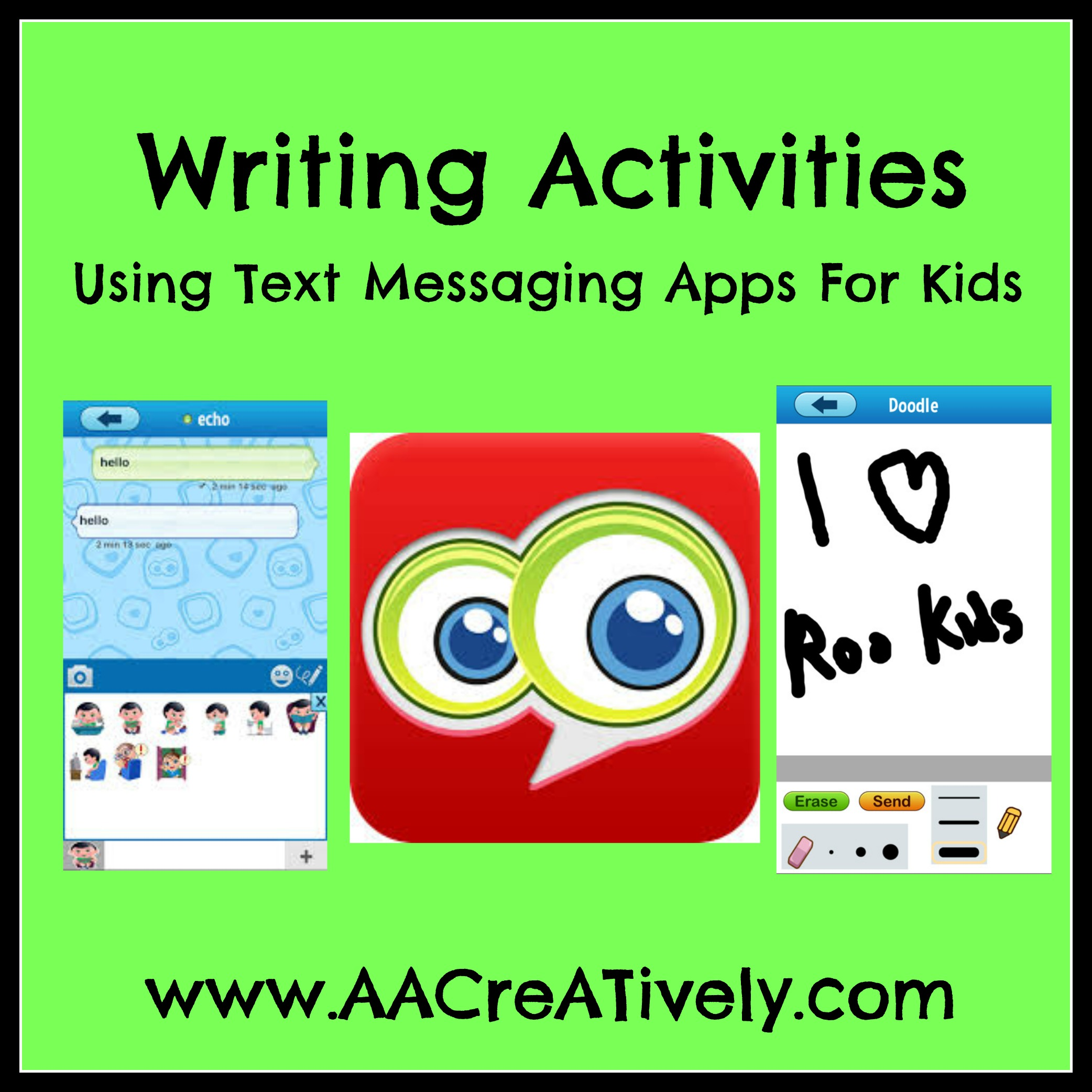 Writing Activities Using Instant Messaging Apps For Kids